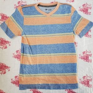 Tucker + Tate color striped v-neck t-shirt
